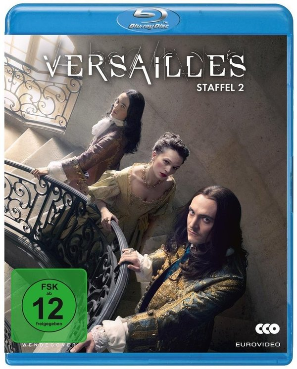 """Königlich: Gewinnt eine BD zu """"Versailles"""" - Die komplette 2. Staffel"""