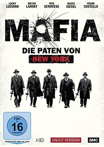 """Ein Angebot, was man nicht ablehnen  kann: Macht mit und gewinnt bei uns die Mini-Serie """"Mafia - Die Paten von New York"""" auf DVD"""