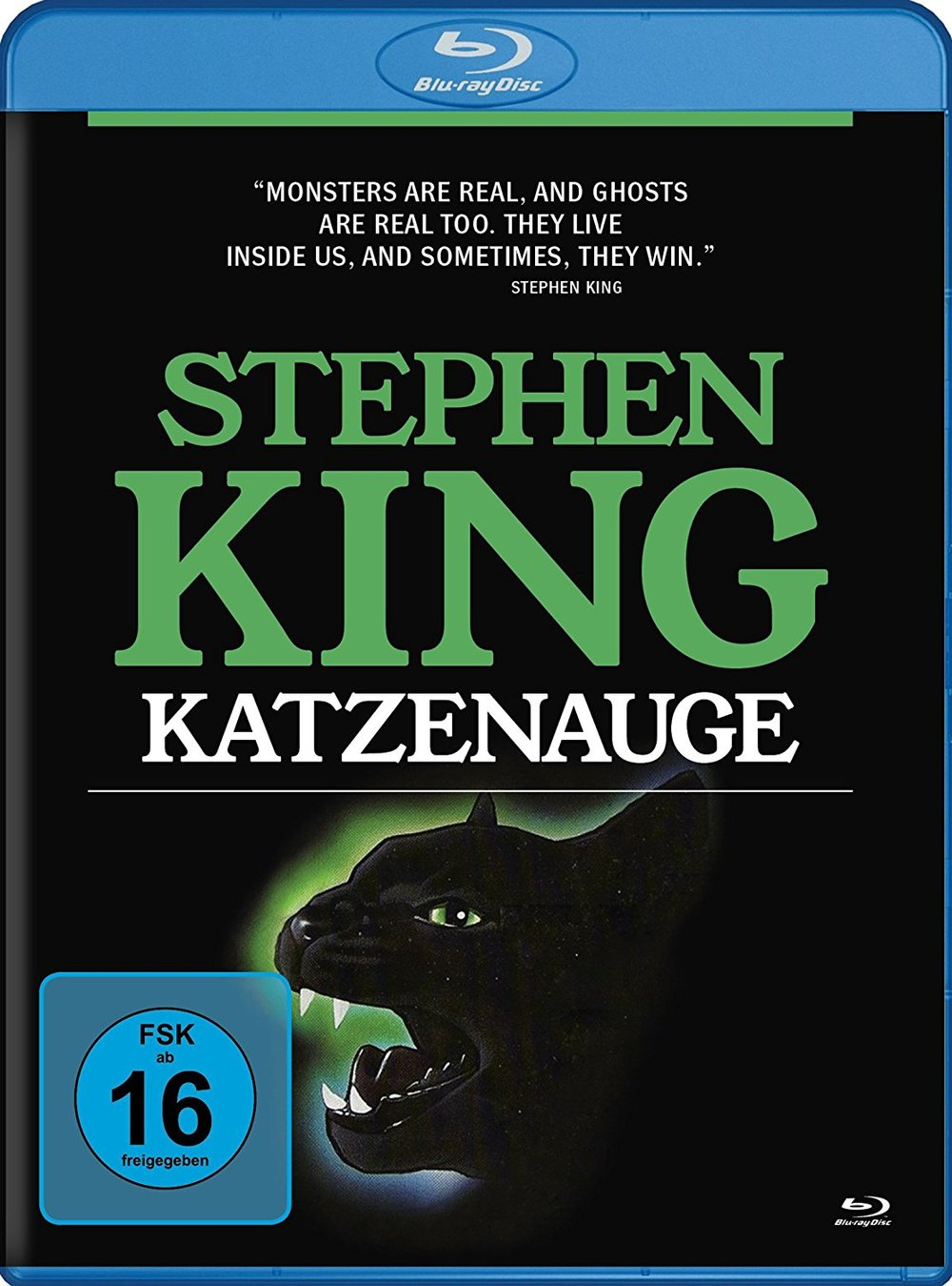 """Horror-Fans aufgepasst: Wir verlosen """"Stephen King: Katzenauge"""" auf Blu-ray"""