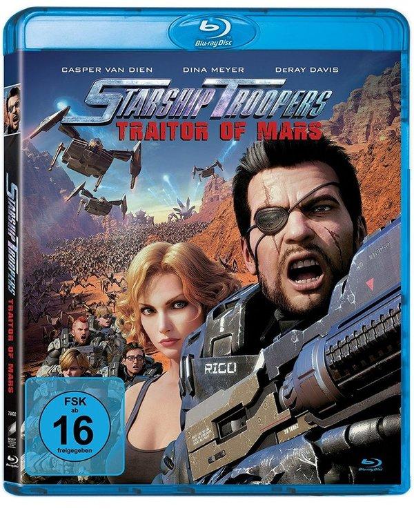 """Johnny Rico und die Bugs sind wieder da: Wir verlosen """"Starship Troopers: Traitor of Mars"""" auf BD"""