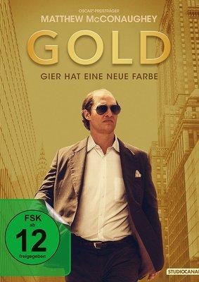 """Wir verlosen eine BD (inkl. Poster) zu """"Gold - Gier hat eine neue Farbe"""" mit Oscar-Preisträger Matthew McConaughey"""