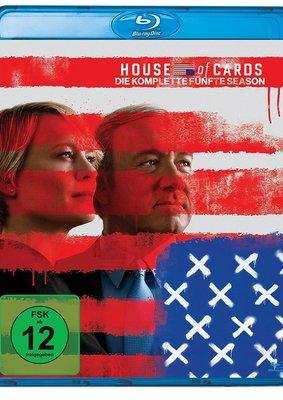 """In Kevin Spacey we trust: Wir verlosen """"House of Cards - Die komplette fünfte Season"""" auf BD"""