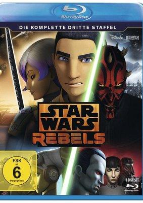"""Möge die Verlosung mit euch sein und gewinnt """"Star Wars Rebels - Die komplette dritte Staffel"""" auf BD"""
