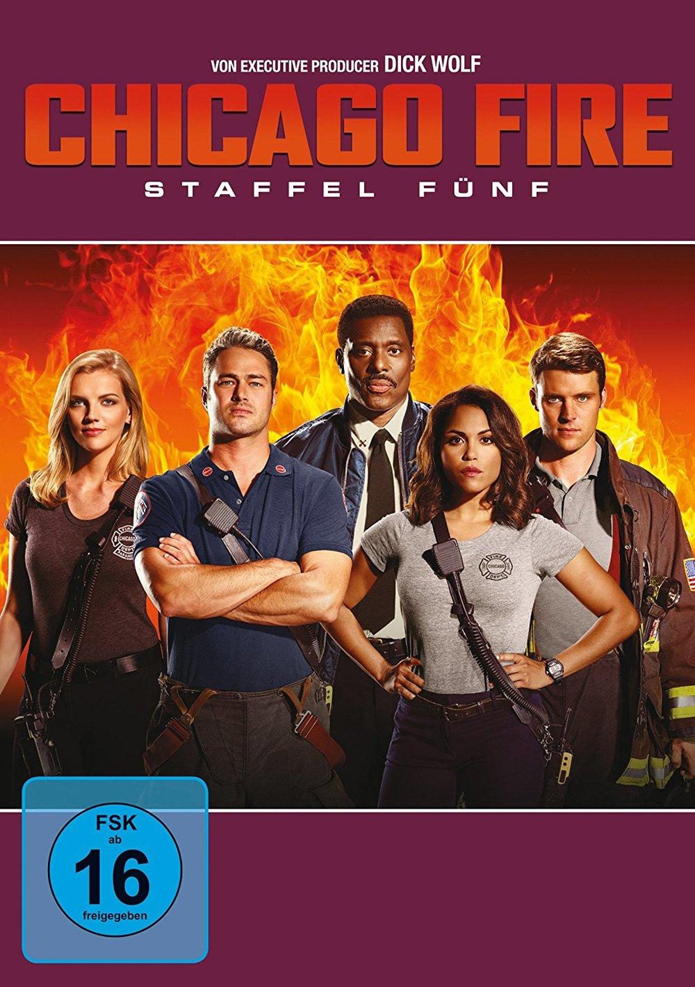 """Feuer und Flamme: Wir verlosen die fünfte  Staffel von """"Chicago Fire"""" auf DVD"""