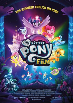 """Gewinnt zum Kinostart des bunten Animationsspaßes """"My Little Pony - Der Film"""" ein tolles Fan-Paket"""