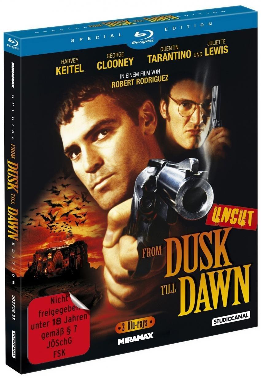 """Bleibt cool! Wir verlosen den Kult-Film """"From Dusk Till Dawn"""" Uncut auf Blu-Ray"""