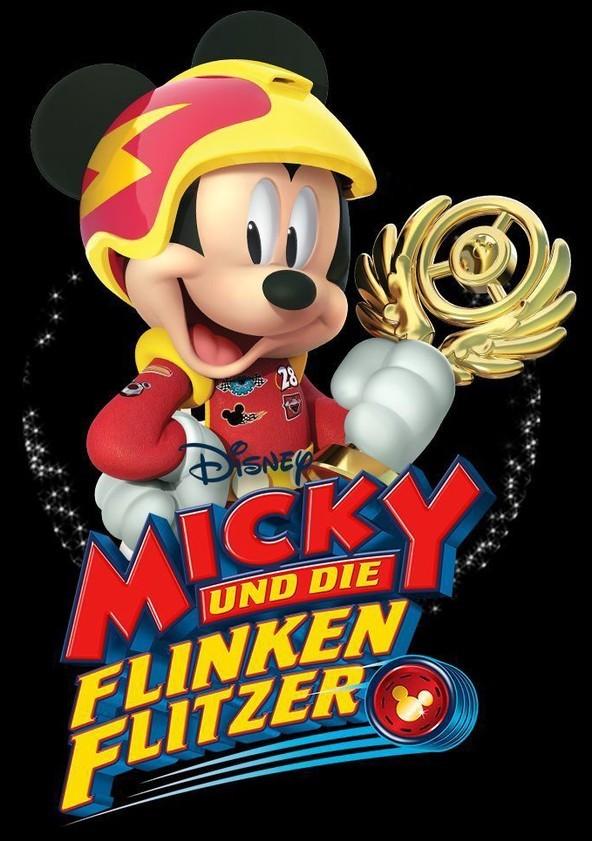 """Rasant und kultig: Gewinnt zum TV Start von """"Micky und die flinken Flitzer"""" im Disney Channel eine Mickey Plüschfigur"""