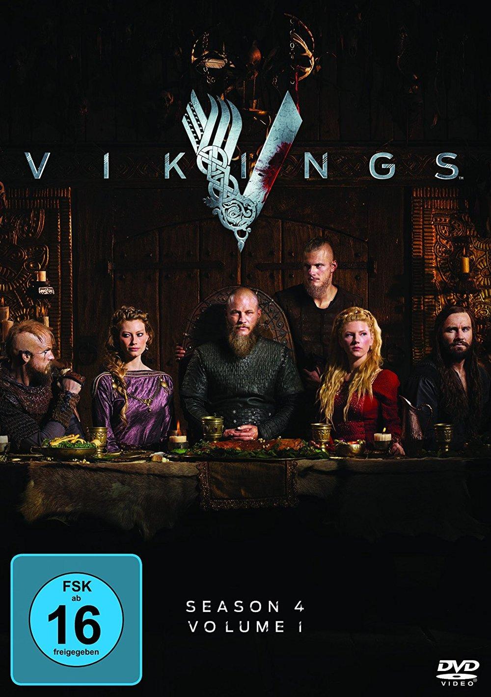 """Wir verlosen Staffel 4 (Volume 1) der Hit-Serie """"Vikings"""" auf DVD"""