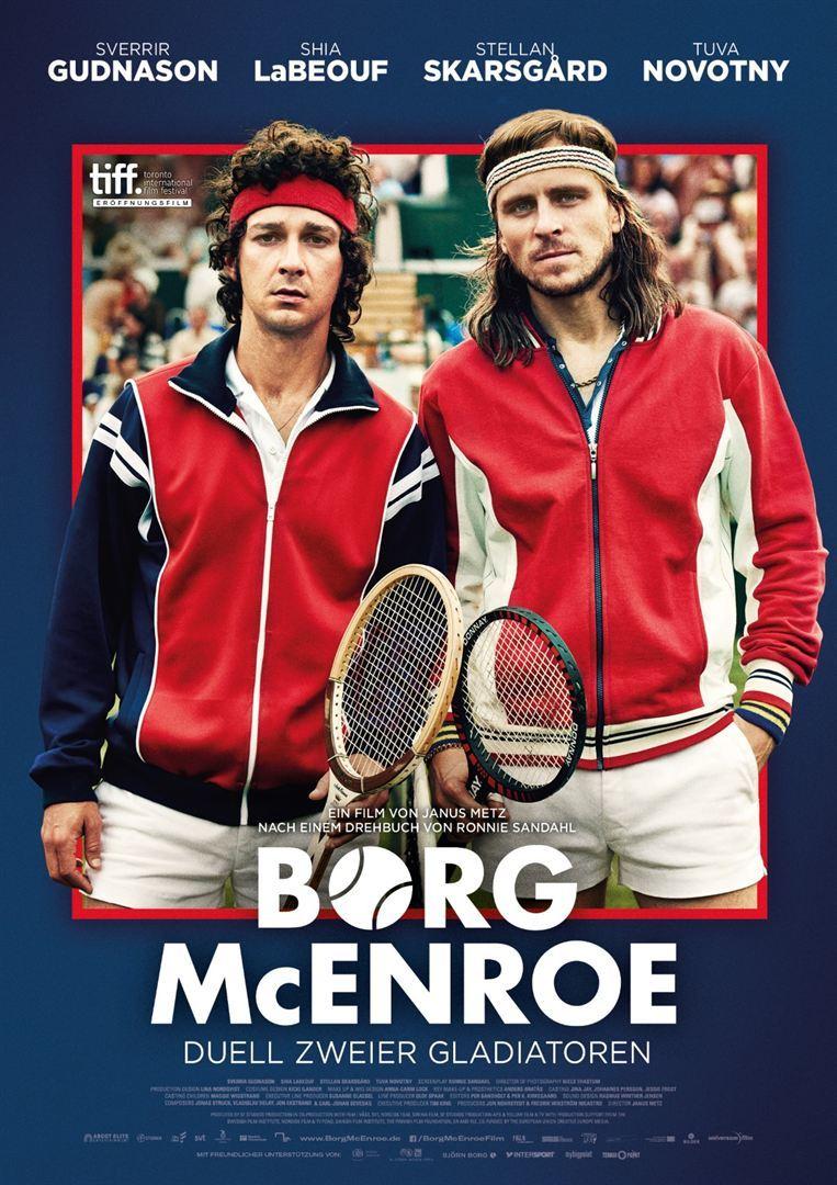 """Macht mit und gewinnt zum Kinostart von """"Borg/McEnroe - Duell zweier Gladiatoren"""" ein Fan-Paket (inkl. Freikarten)"""