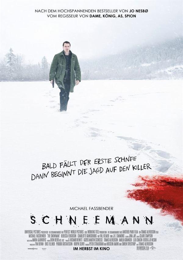 """Wir verlosen zum Kinostart von """"Schneemann"""" den Roman zum Film von Kultautor Jo Nesbø"""