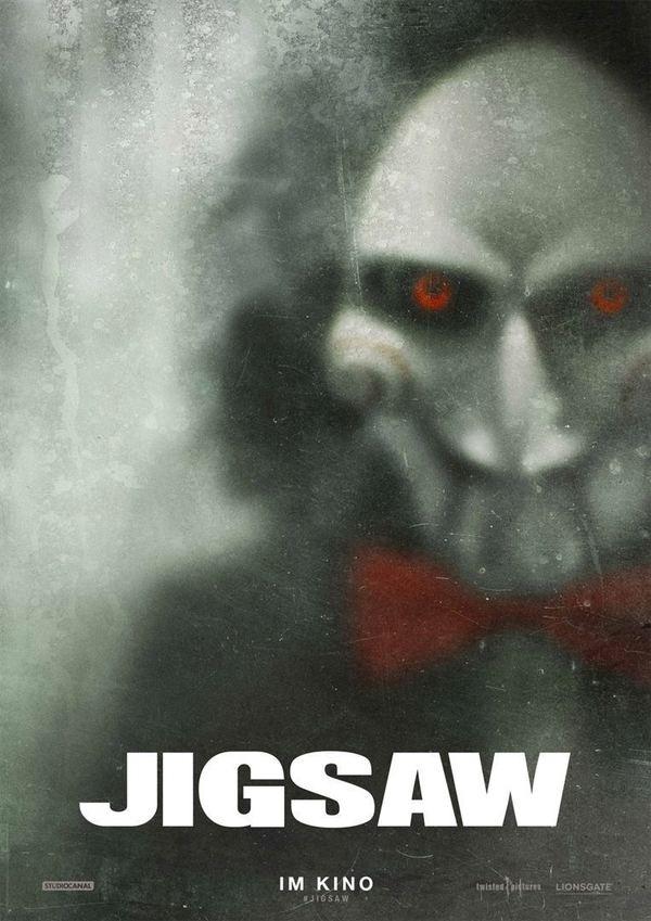 """Wir möchten ein Gewinnspiel spielen: Macht mit und gewinnt zum Kinostart von """"Jigsaw"""" ein tolles Fan-Paket"""