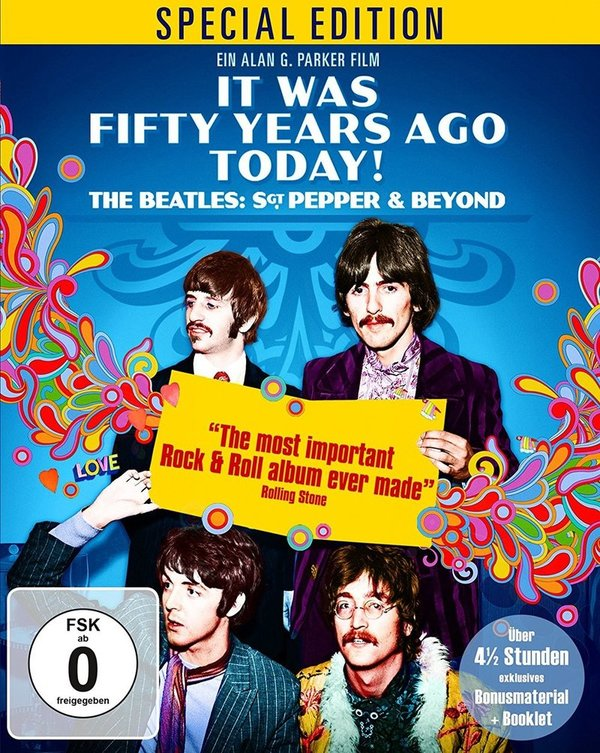 "Beatles-Fans  aufgepasst: Wir verlosen ""It Was Fifty Years Ago Today... Sgt Pepper and Beyond"" auf BD"