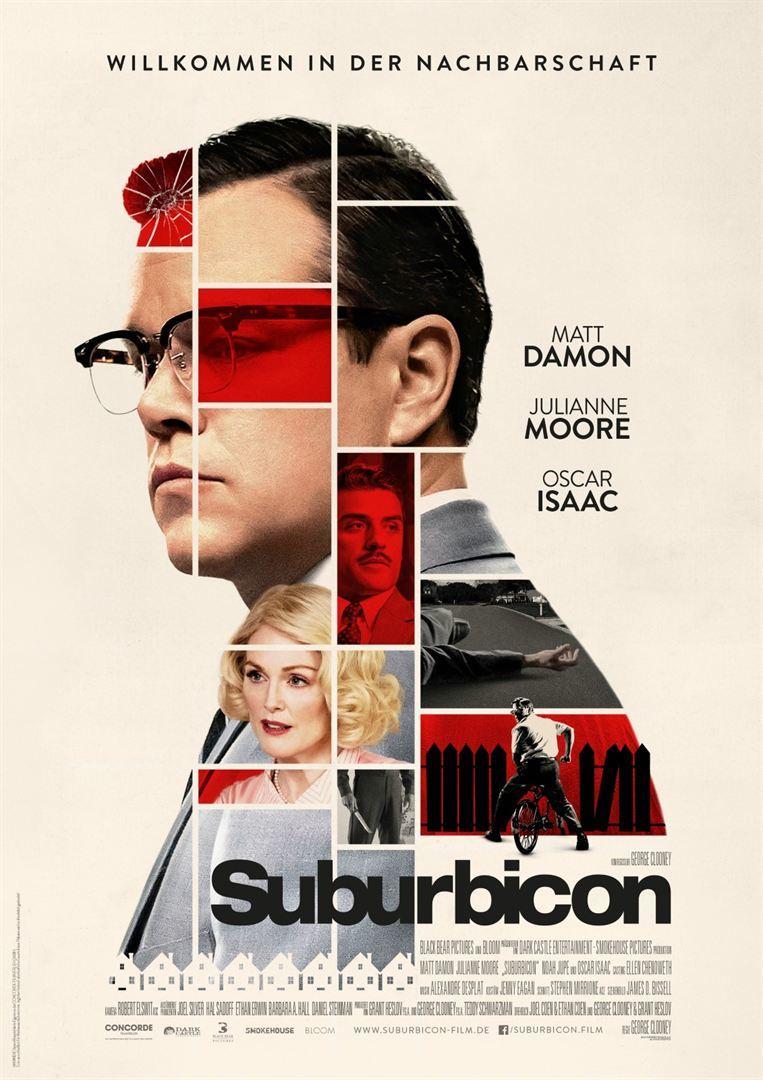 """""""Suburbicon"""": Wir verlosen Freikarten und Poster zum Film mit Matt Damon und Julianne Moore"""