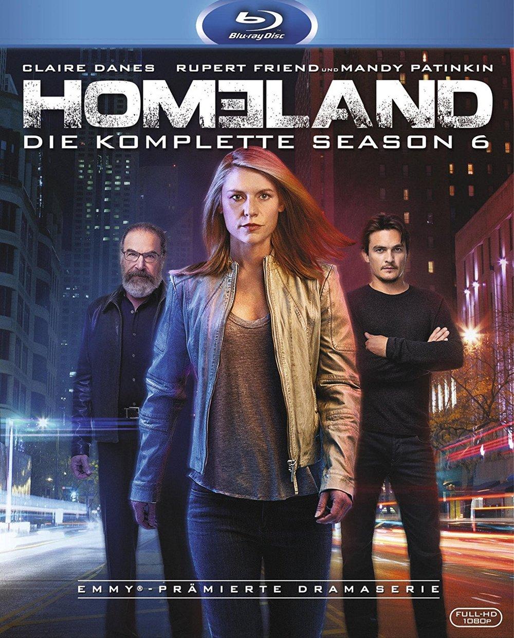 """Wir verlosen die komplette sechste Staffel der Erfolgsserie """"Homeland"""" auf BD"""