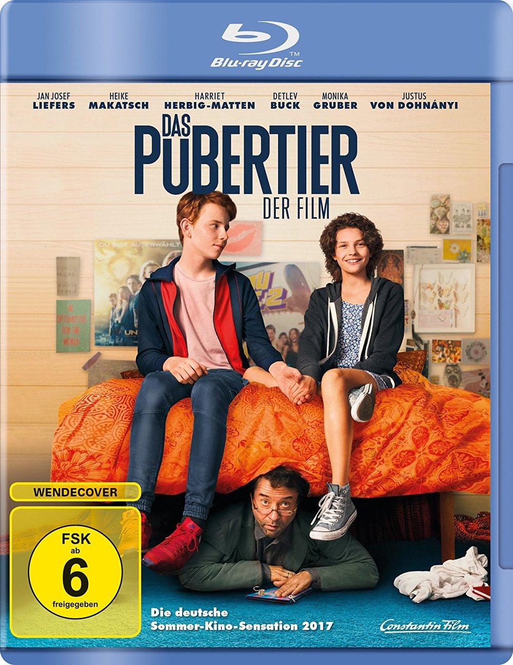 """""""Das Pubertier -Der Film"""": Wir verlosen insgesamt drei BDs der Bestseller-Verfilmung"""
