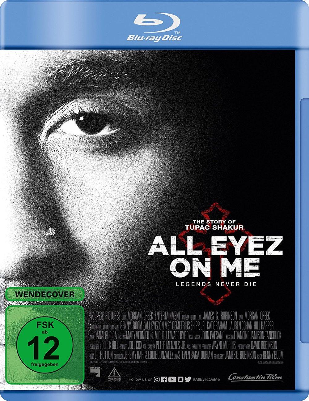 """Poet und Poser: Wir verlosen insgesamt drei BDs zum 2Pac-Biopic """"All Eyez on Me"""""""