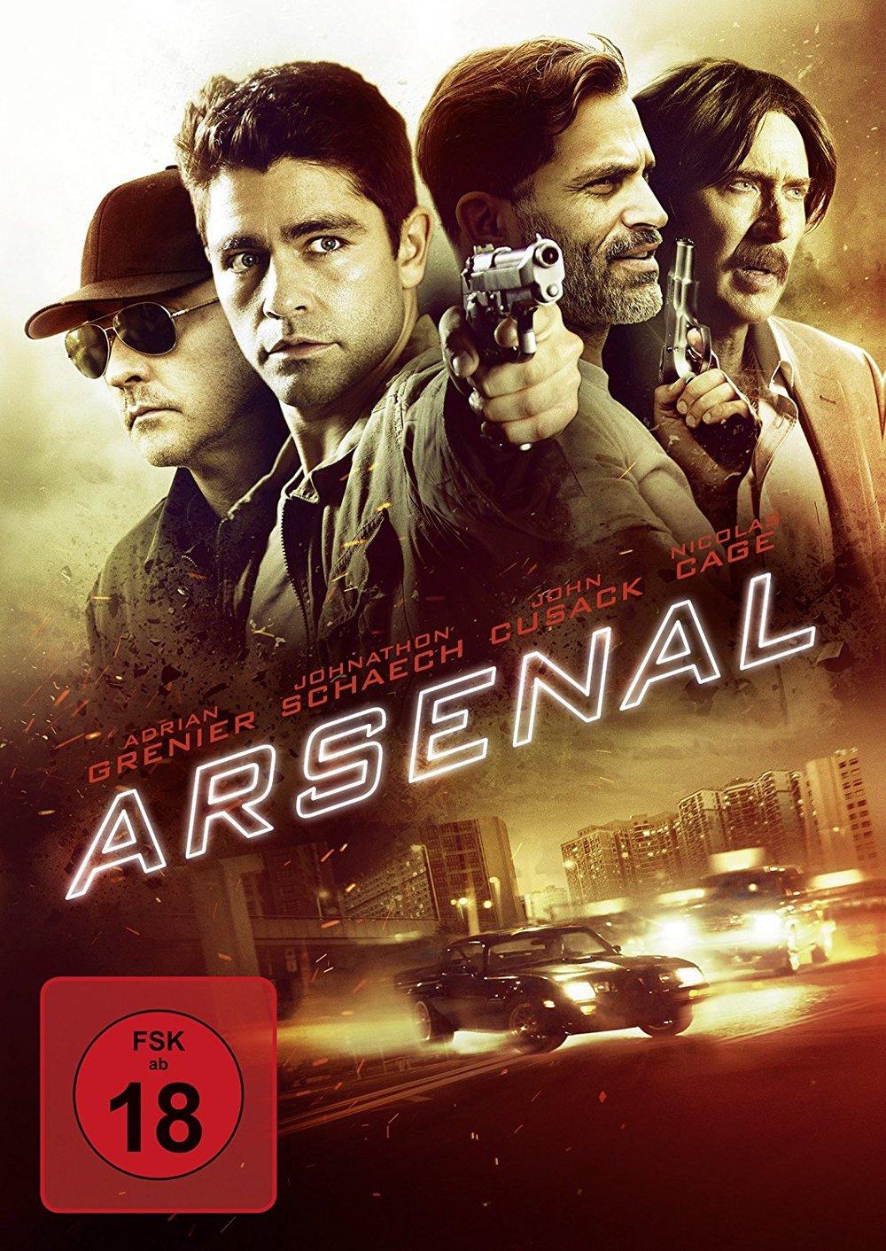 """Wir verlosen """"Arsenal"""" mit Nicolas Cage und John Cusack auf DVD"""
