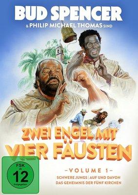 """Gewinnt eine DVD zur Kult-Serie """"Zwei Engel mit vier Fäusten"""", Vol. 1"""