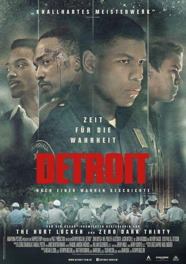 """Zum Kinostart von Kathryn Bigelows neuem Drama """"Detroit"""" verlosen wir Freikarten"""
