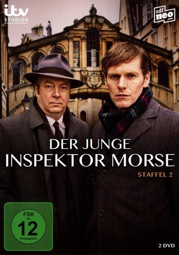 """Gewinnt eine DVD zur zweiten Staffel der genialen Krimi-Serie """"Der junge Inspektor Morse"""""""