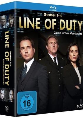 """Die volle Dosis Krimi:  Macht mit und gewinnt """"Line of Duty - Cops unter Verdacht"""" (Staffel 1 bis 4) auf BD"""