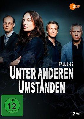 """Krimi satt: Wir verlosen die DVD-Box (Fall 1 bis 12) zu """"Unter anderen Umständen"""""""
