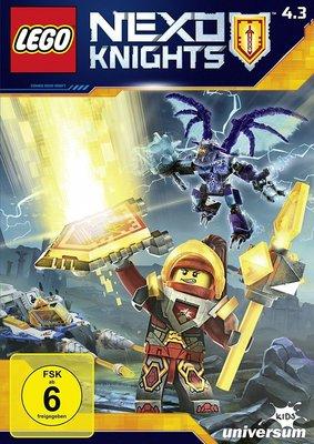 Noch mehr Lego-Spaß: Wir verlosen eine DVD zu Lego Nexo Knights 4.3 sowie dem Hörspiel Folge 19
