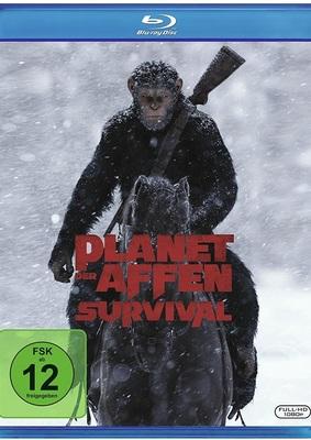 """Mensch gegen Affe: Gewinnt eine BD zu """"Planet der Affen: Survival"""""""