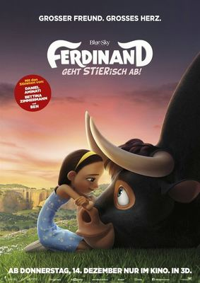 """Adventskalender: Zum Kinostart des Animationsspaßes """"Ferdinand - Geht STIERisch ab!"""" tolle Fan-Pakete"""