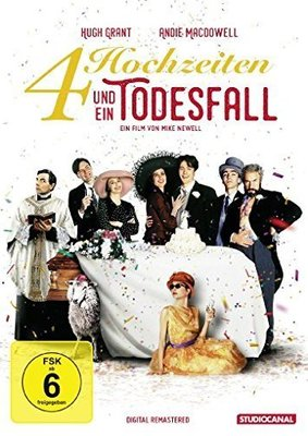 """Heiraten mit Kultfaktor: Gewinnt eine DVD oder BD zu """"Vier Hochzeiten und ein Todesfall"""""""