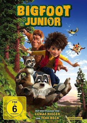 """Auf großem Fuß: Gewinnt eine DVD oder BD zum spaßigen """"Bigfoot Junior"""" sowie dem Hörspiel"""