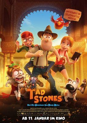 """Auf Schatzsuche: Zum Kinostart des Animations-Abenteuers """"Tad Jones und das Geheimnis von König Midas"""" verlosen wir ein Fan-Paket"""