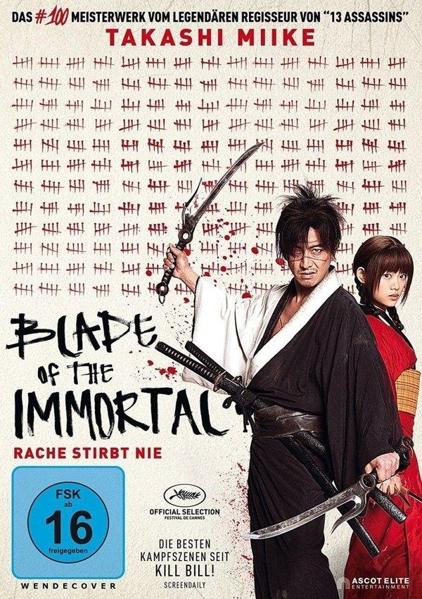 """Unsterbliche Rache: Gewinnt eine DVD oder BD zum Takashi Miike Actioner """"Blade of the Immortal"""""""
