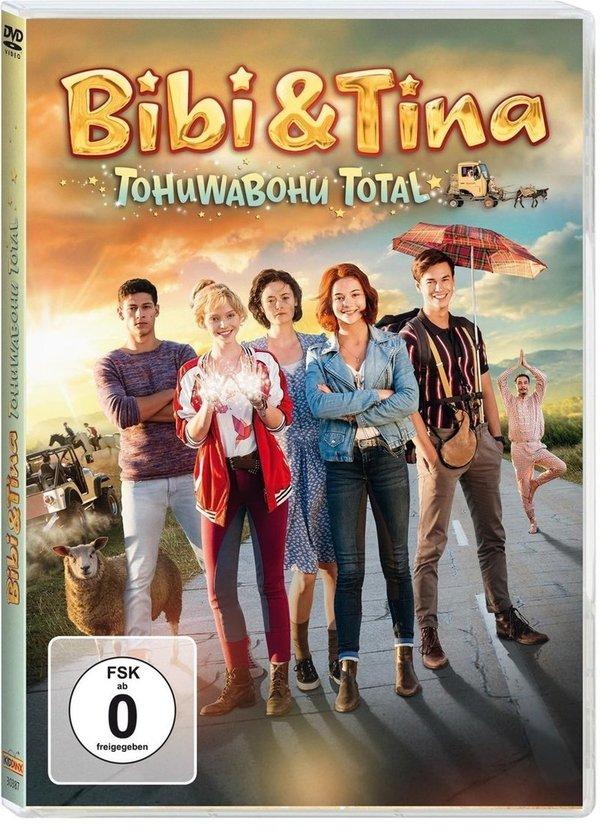 """Ein Grund zum Feiern: Bibi & Tina sind Lizenzthema des Jahres 2017 und passend dazu gibt es eine DVD von """"Bibi & Tina - Tohuwabohu Total!"""" zu gewinnen"""