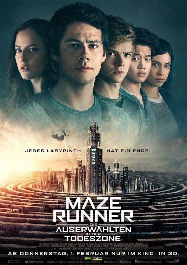 """Das Ende einer Saga: Zum Kinostart von """"Maze Runner 3: Die Auserwählten in der Todeszone"""" verlosen wir ein Fan-Paket"""