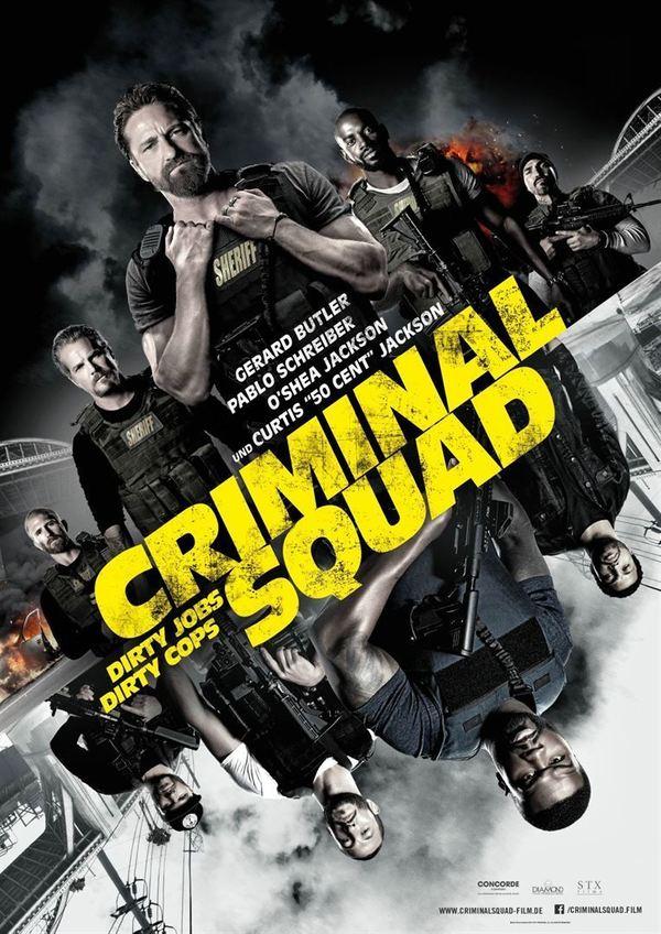 """Ein Rennen gegen die Zeit: Zum Kinostart von """"Criminal Squad"""" verlosen wir ein Fan-Paket"""