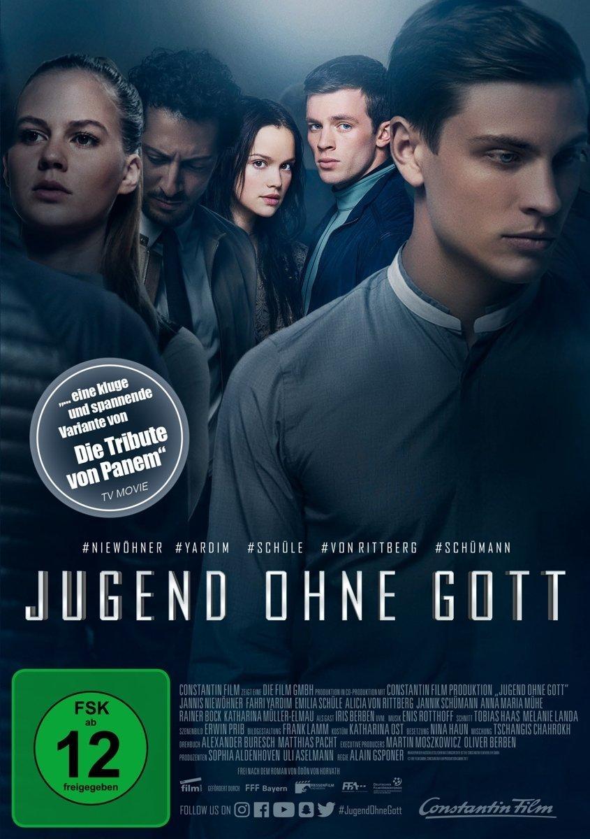 """Jugendliche Elite: Gewinnt eine DVD oder BD zur Romanadaption von """"Jugend ohne Gott"""""""