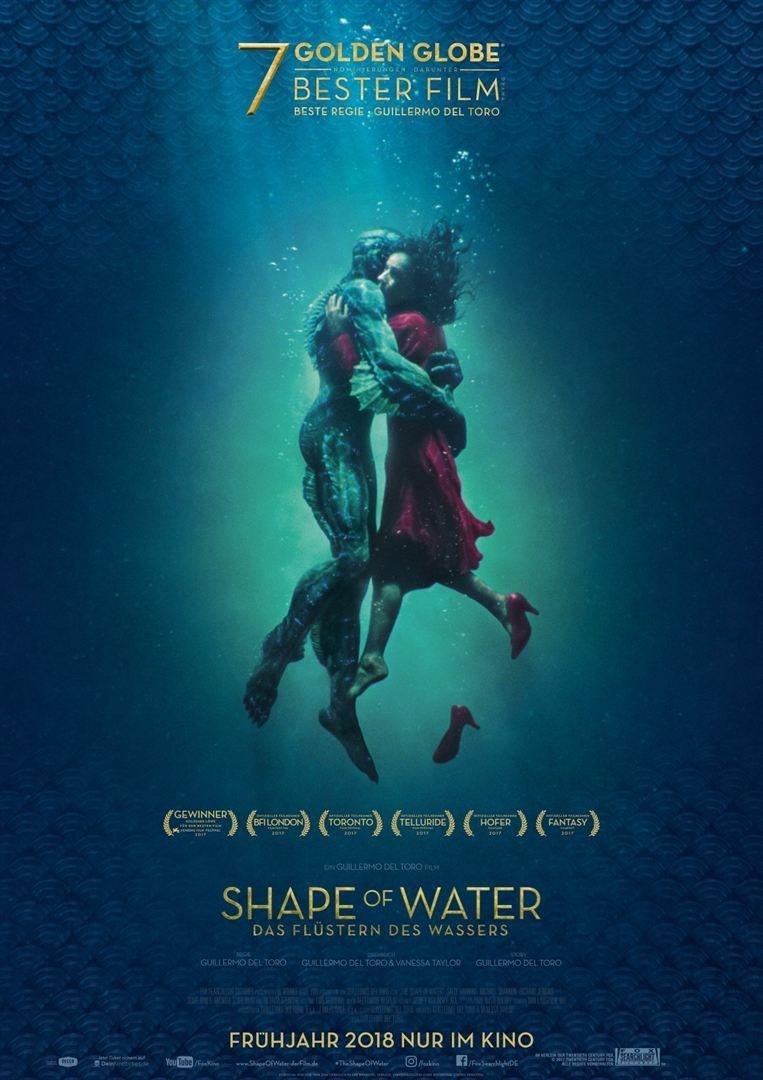 """Eine wunderbare Liebe: Zum Kinostart von """"Shape of Water -Das Flüstern des Wassers"""" verlosen wir ein Fan-Paket"""