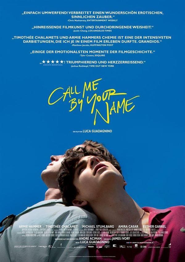 """Eine gefühlvolle Liebe: Zum Kinostart von """"Call Me By Your Name?"""" verlosen wir ein Fan-Paket"""