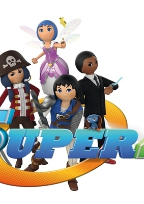 """Gewinnt zur TV-Ausstrahlung der letzten acht Folgen der 2. Staffel """"Super 4"""" tolle Playmobil-Sets"""