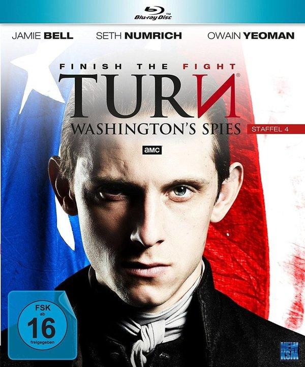 """Kampf für die Freiheit: Gewinnt eine BD zu """"Turn - Washington's Spies"""" - Staffel 4"""