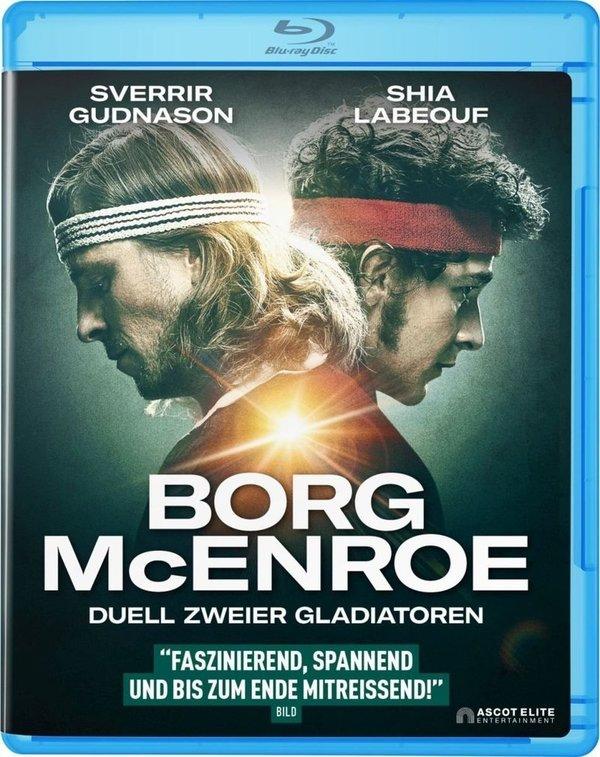 """Jahrhundert Duell: Gewinnt eine BD zum spannenden """"Borg/McEnroe - Duell zweier Gladiatoren"""""""