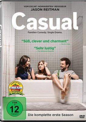 """Modernes Beziehungschaos: Gewinnt eine DVD zur Comedy-Serie """"Casual - Die komplette erste Season"""""""