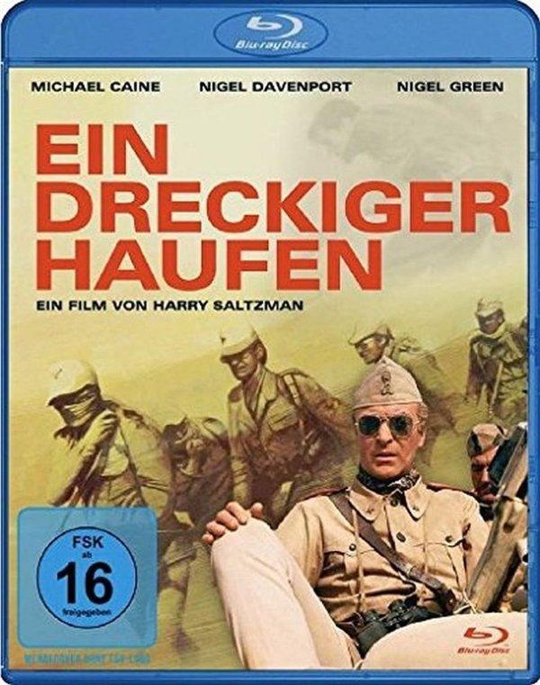 """Wir verlosen den Kriegsfilm """"Ein dreckiger Haufen"""" mit Michael Caine auf BD"""