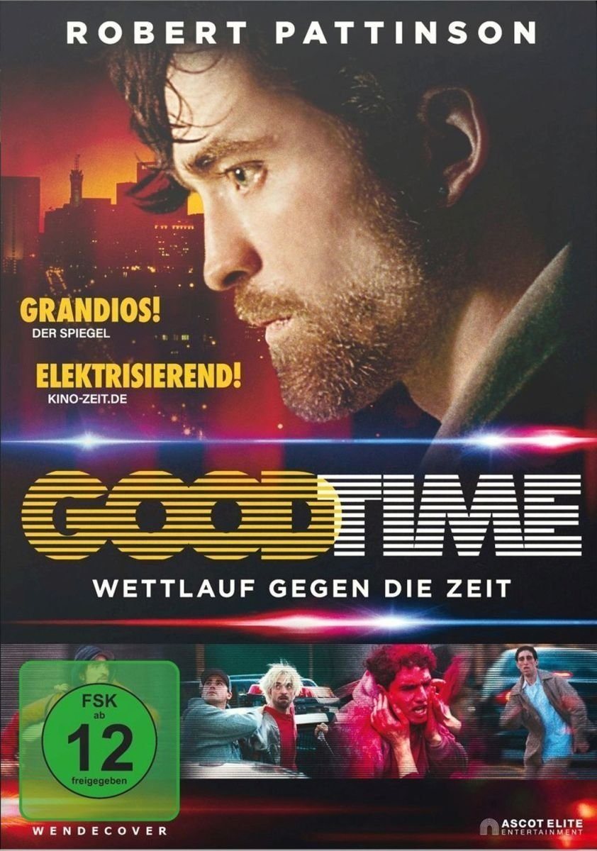 """Wir verlosen den gefeierten """"Good Time"""" mit Robert Pattinson auf DVD"""