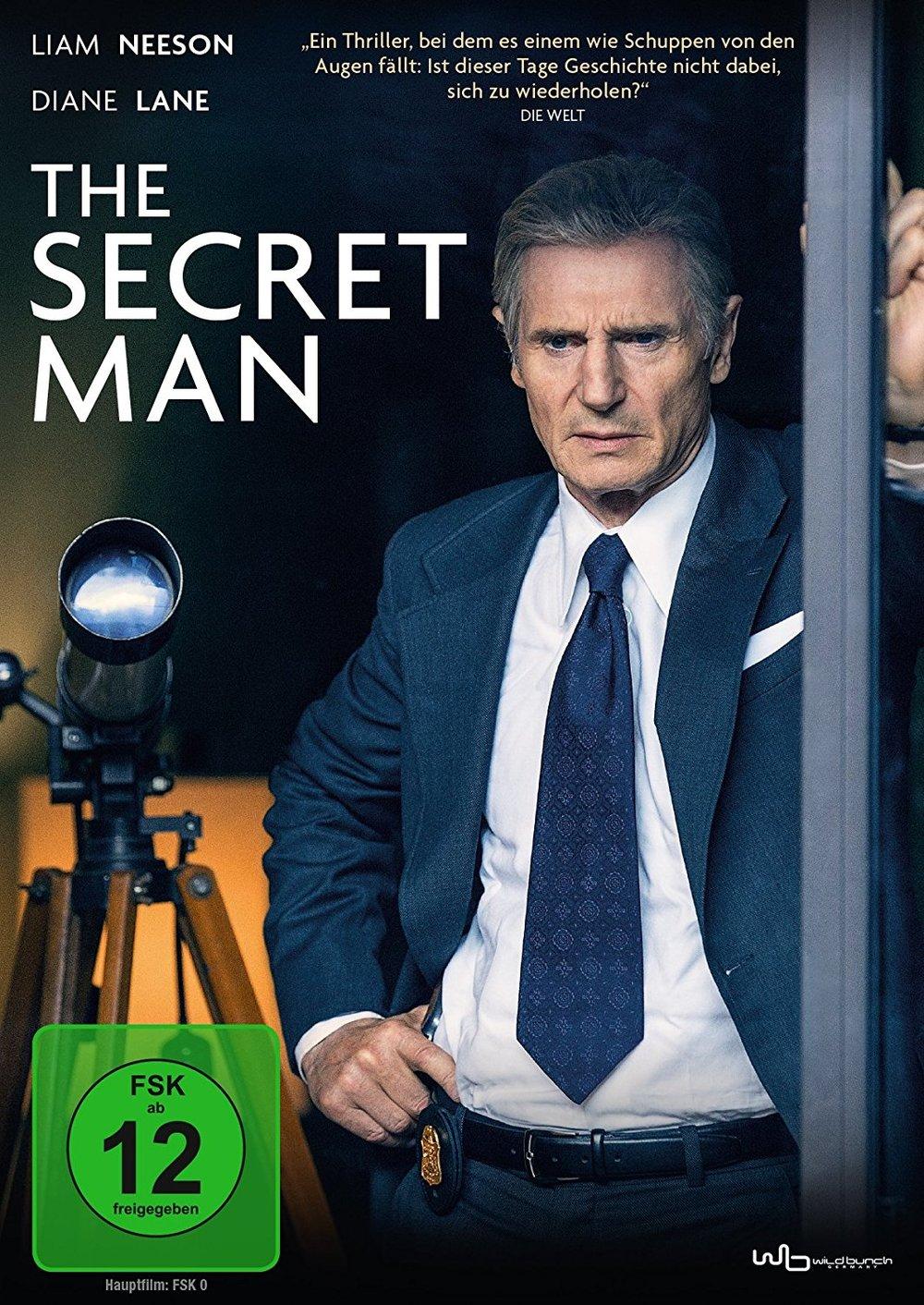 """Watergate: Gewinnt eine DVD zum Thriller """"The Secret Man"""" mit Liam Neeson"""