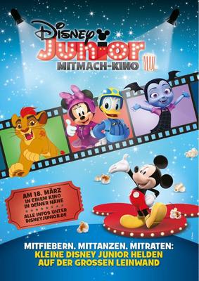 Das Disney Junior Mitmach-Kino: Gewinnt zum Start der sechsten Runde ein tolles Fan-Paket