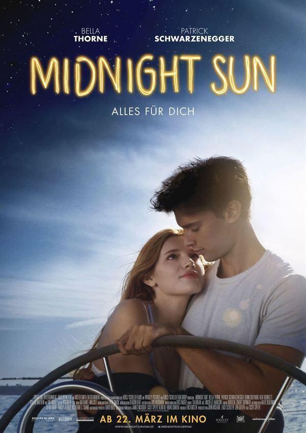 """Gefühlvolle Liebe : Zum Kinostart von """"Midnight Sun -Alles für Dich"""" verlosen wir tolle Fan-Pakete"""