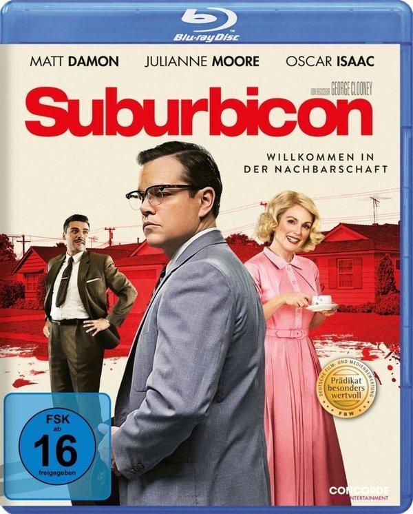 """""""Suburbicon"""": Matt Damon und Julianne Moore begrüßen euch in der Nachbarschaft und wir verlosen zwei BDs dazu"""