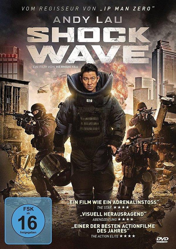 """Explosiv: Wir verlosen """"Shock Wave"""" mit Asia-Superstar Andy Lau auf DVD und BD"""